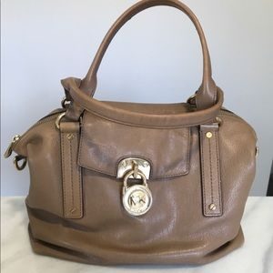 Authentic Michael Kors Hamilton Lock Satchel